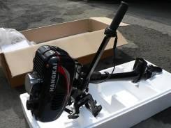 Лодочный мотор Hangkai 3.5 л. с. 3,50л.с., 2-тактный, бензиновый, нога S (381 мм), 2014 год год