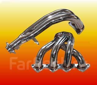 Коллектор выпускной. Honda Civic Двигатели: D16B, D16B1, D16A9, D16Z2, D16Y2, D16A7, D16Y8, D16W8, D16V2, D16Z6, D16Y4, D16W4, D16Y6, D16B2, D16A, D16...