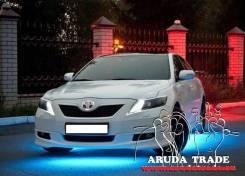 7-ми цветная круговая система подсветки днища и салона авто (Толстая)