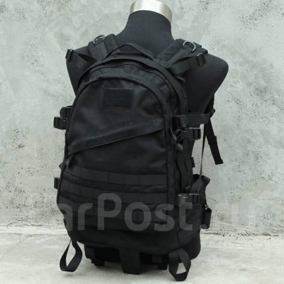 3-day штурмовой рюкзак, молле.черный райс рюкзаки и сумки