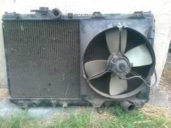 Радиатор охлаждения двигателя. Toyota Vista, SV30, SV32 Toyota Camry, SV30, SV32 Двигатели: 3SFE, 3SFSE, 3SGE, 3SGELU, 4SFE, 4SFI