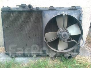 Радиатор охлаждения двигателя. Toyota Vista, SV30, SV32 Toyota Camry, SV32, SV30 Двигатели: 3SGE, 3SFE, 4SFE