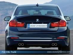 Крышка багажника. BMW 3-Series, F30