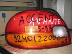 Стоп-сигнал. Hyundai Accent, Sedan