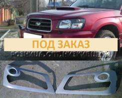 Накладка на фару. Subaru Forester, SG5, SG9, SG9L. Под заказ