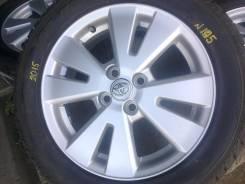 Литье Тойота Филдер- оригинал R16 4*100, в Братске!. 5.5x16 4x100.00 ET39 ЦО 54,1мм.