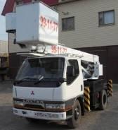 Mitsubishi Canter. Автовышка Aichi, 4 000 куб. см., 13 м.