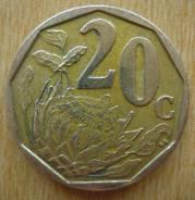 20 центов, ЮАР, 2007 г.