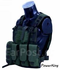 """Тактический разгрузочный жилет """"Commando"""" - цвет чёрный."""