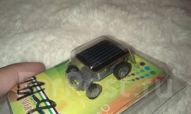 Машинка на солнечной батарее. Классная игруха.