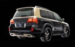 Губа. Toyota Land Cruiser Lexus LX570