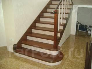 Лестницы, перила, столярные работы.