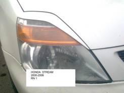 Накладка на фару. Honda Stream, RN3, RN1, RN2, RN5, RN4 Двигатели: K20A, IVTEC, D17A, VTEC, K20B. Под заказ