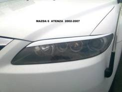Накладка на фару. Mazda Atenza. Под заказ