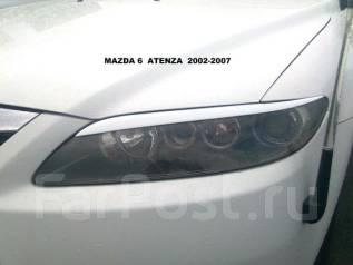 Накладка на фару. Mazda Atenza, GGEP. Под заказ