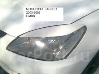 Накладка на фару. Mitsubishi Lancer, CS2A, CS1A, CS3W, CS5A, CS5W, GMBS Двигатели: 4G15, 4G63, 4G18, 4G93, GDI, 4G13. Под заказ