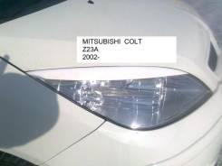Накладка на фару. Mitsubishi Colt. Под заказ