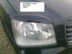 Накладка на фару. Mitsubishi Dion, CR9W. Под заказ