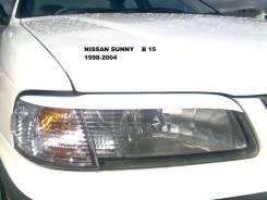 Накладка на фару. Nissan Sunny. Под заказ