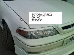 Накладка на фару. Toyota Mark II, JZX105, GX105, JZX100, GX100, JZX101, LX100