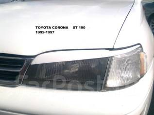 Накладка на фару. Toyota Corona, CT195, ST195, ST190, ST191, CT190, AT190 Toyota Caldina Двигатели: 2C, 3SFE, 4SFE, 2CIII, 4AFE. Под заказ