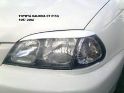 Накладка на фару. Toyota Caldina. Под заказ