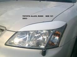 Накладка на фару. Toyota Allex Toyota Corolla Runx