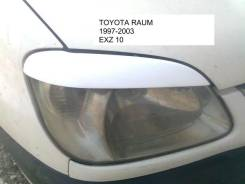 Накладка декоративная. Toyota Raum, EXZ10, EXZ15 5EFE