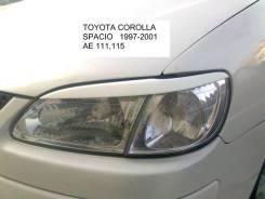 Накладка на фару. Toyota Corolla Spacio. Под заказ