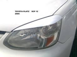 Накладка на фару. Toyota Platz. Под заказ