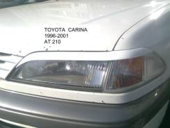 Накладка на фару. Toyota Carina, AT210. Под заказ