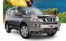 Дефлектор капота. Nissan X-Trail, PNT30, NT31, DNT31, TNT31, T31, T30, NT30 Двигатели: SR20VET, MR20DE, M9R, QR25DE, QR20DE, YD22DDTI