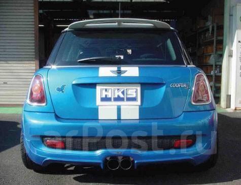 Hks выхлопная система для Mini Cooper S Gt и тюнинг в москве