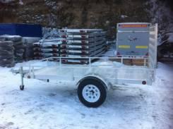 DVRV UT5X10. Алюминиевый прицеп к легковому автомобилю с грузовой площадкой 3,00х1,, 750кг.