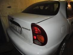 Задняя часть на шевролет ланос. Chevrolet Lanos