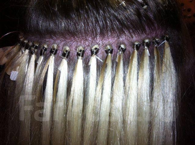 сколько надо прядей волос для наращивания