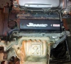 Защита выпускного коллектора. Toyota RAV4, SXA11W Двигатель 3SGE