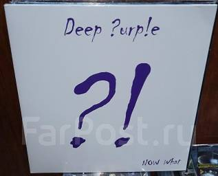 Deep Purple: Now What?! (Vinyl LP /фирм. ). Под заказ