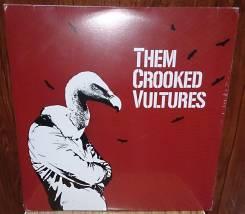 Them Crooked Vultures (2 Vinyl/ фирм. ) Германия.