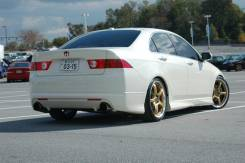 Губа. Acura TSX Honda Accord