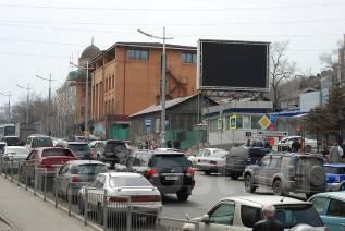 "Акция! Размещение рекламы на экране на ВГУЭС рядом с ТКЦ ""Адеграунд"""