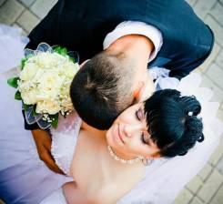 Свадебные прически и макияж.