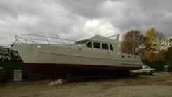 Корпус катера Евро 16. длина 16,00м., двигатель стационарный, дизель