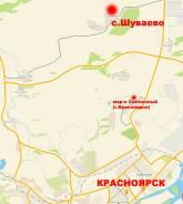 Участок 15 соток - с. Шуваево - в 17 км от Красноярска. 1 500кв.м., собственность, электричество, вода