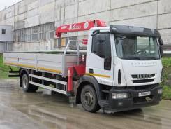 Iveco Eurocargo. Продам Бортовой с КМУ Iveco EuroCargo, 6 000 куб. см., 8 000 кг.