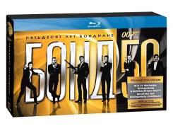 """Бонд 50 + 007: Координаты """"Скайфолл"""" (24 Blu-ray). Под заказ"""