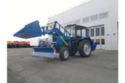 МТЗ 82.1. Трактор с погрузочно-уборочным оборудованием