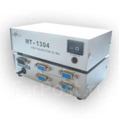 Разветвитель видеосигнала VGA (splitter, делитель) на 4 монитора