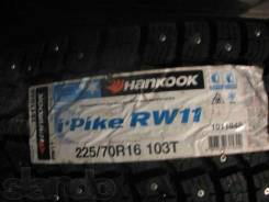 Hankook Winter i*Pike RW11. Зимние, шипованные, 2015 год, без износа, 4 шт. Под заказ
