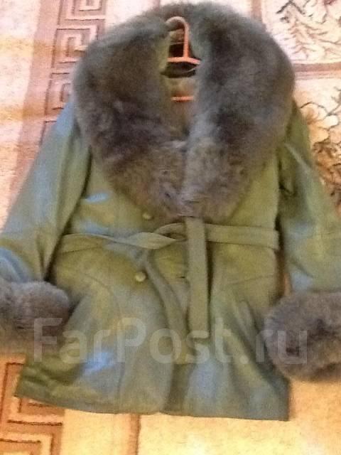 1a1629ee7d673 Кожаная куртка на 48 размер и рост 164 см - Верхняя одежда во ...